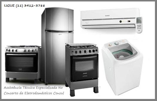 Assistência Técnica Especializada Eletrodomésticos Consul