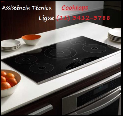 Assistência Técnica Cooktops Elétricos