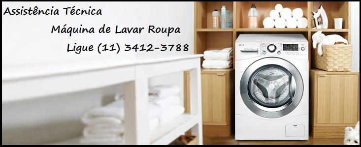 Assistência Técnica Máquina de Lavar Roupa