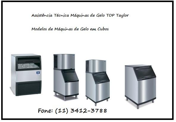 Assistência Técnica Máquina de Gelo em Cubos Top Taylor