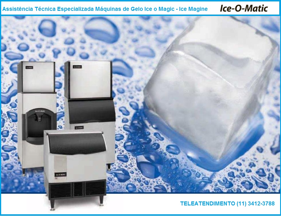 Assistência Técnica Máquina de Gelo Ice - O - Magic