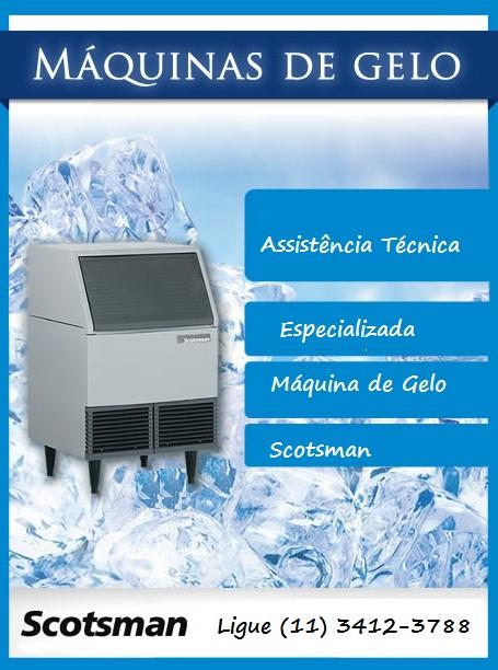 Assistência Técnica Máquina de Gelo Scotsman